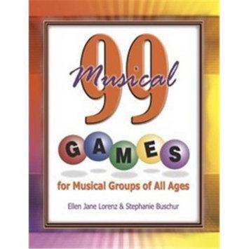 The Lorenz Corporation 99 Musical Games - Ellen Jane Lorenz - SongBook - PP36