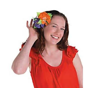 Hawaiian Hair Clips, Hibiscus Hair Barrettes, Luau Decor, Polynesian Flower Clip (12)