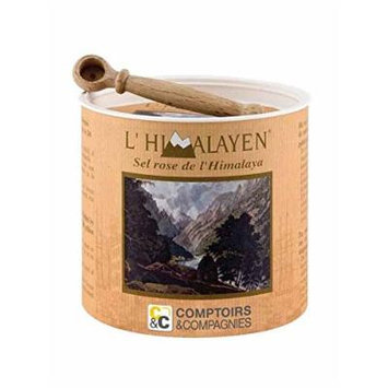 Himalayan Pink Salt with Spoon, 8.8-Ounce Box