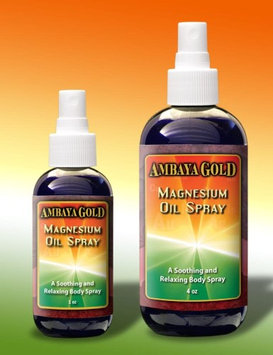 100% Absorbable Magnesium Oil Ambaya Gold 1 oz Liquid