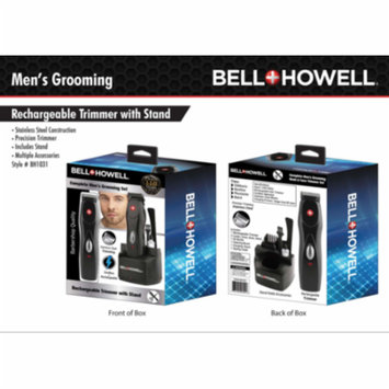 Bell + Howell Complete Men's Grooming Set Cordless & Rechargeable