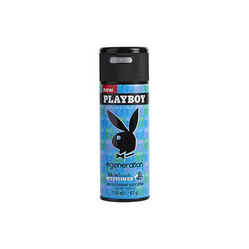 PLAYBOY #GENERATION by Playboy - BODY SPRAY 5 OZ - MEN