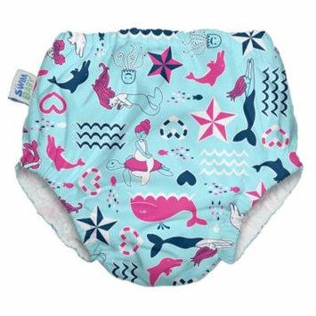 My Swim Baby Swim Diaper, Little Mermaids, XL