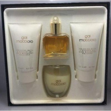 GAI MATTIOLO Profumi Women SET 1 OZ EDT SP + 4.2 OZ SHOWER GEL + CANDLE, Nib