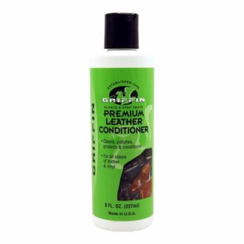 Griffin Premium Leather Conditioner - Cleans, Polishes, and Protects - 8 fl oz