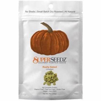Superseedz Gourmet Pumpkin Seeds Really Naked Case of 6 5 oz.