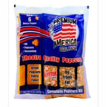 Great Westerm Premium America Dual Pack Popcorn Kit 8 oz. (36 Count)