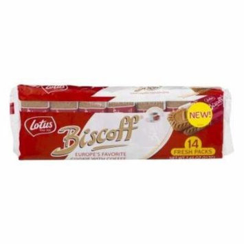 Biscoff Cookies (Lotus) 14 FRESH PACKS 7.65 oz (217g)