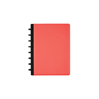 TUL(TM) Custom Note-Taking System Discbound Notebook, Junior Size, 5 1/2in. x 8 1/2in, Coral