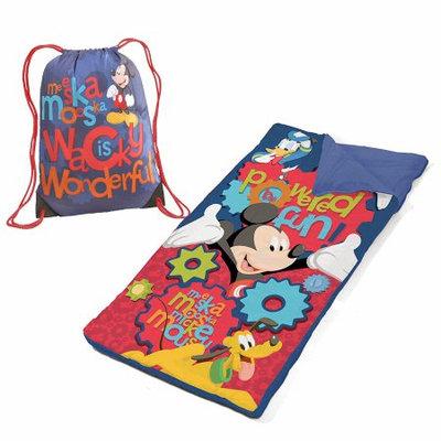 Idea Nuova Disney Mickey Mouse Sling Bag Slumber Set/Nap Mat