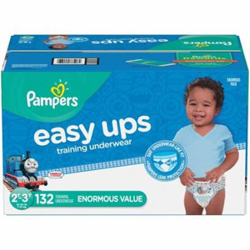 Pampers Easy Ups Training Underwear Boys, Size 2T-3T, 132 Pants