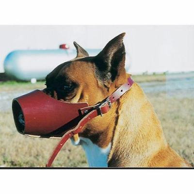 OmniPet 6.75' Leather Muzzle