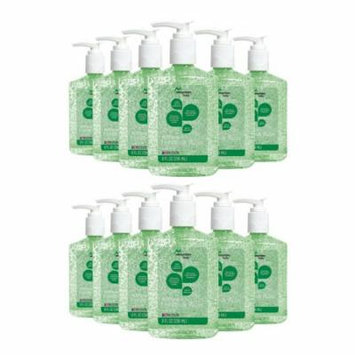 Mountain Falls Advanced Hand Sanitizer with Vitamin E and Aloe, Pump Bottle, 8 oz - 12 Pack