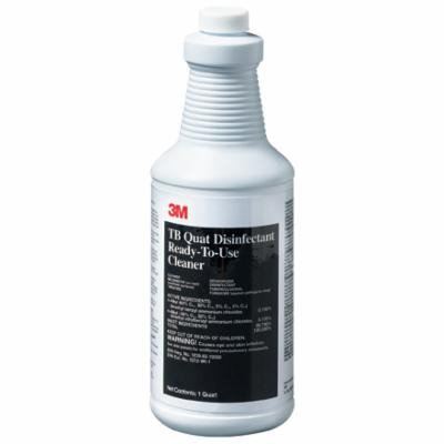 MROS3M124 Clear Janitorial Supplies 3M - TB Quat Disinfectant Made In USA CASE OF 12
