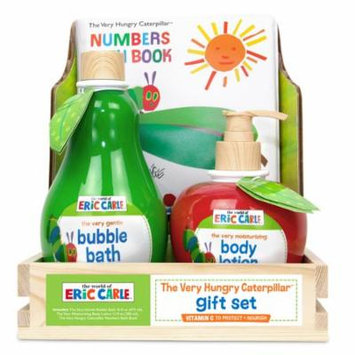 Eric Carle The Very Hungry Caterpillar Bath and Body Bubble Bath Gift Set