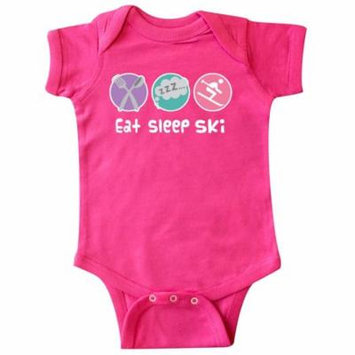 Skiing Eat Sleep Ski Sports Infant Creeper