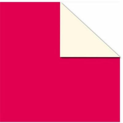 Canvas CCP1556 No.80 Solid Printed Cardstock, Red & Ivory