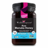 Wedderspoon 100 % Raw Manuka Honey KFactor 12, 17.6 oz, 6 Pack