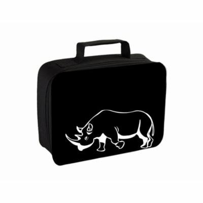 Rhino Small Travel Toiletry / Cosmetic Case with 3 Compartments and Detachable Hanger