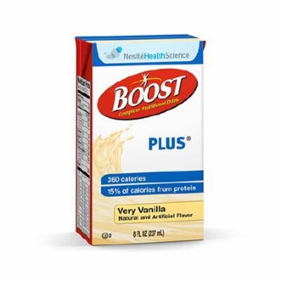 Boost Plus, Very Vanilla, 8 oz Carton - Pack of 6