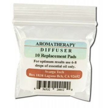 Aromatherapy Diffuser Refill Pads by Svarga Tech