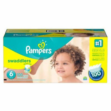 Pampers Swaddlers Disposable Diapers Size 6, 108 Count, ECONOMY PACK PLUS