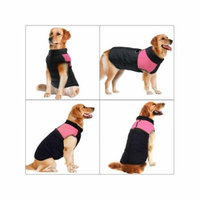 Newstar Cold Weather Warm Vest Pet Jackets for Dogs, Pink Pet Clothes Gits Coats for Small/Medium/Large Dogs, N07PS Zipper Closure Puppy Jacket for Animal, (S-5XL)