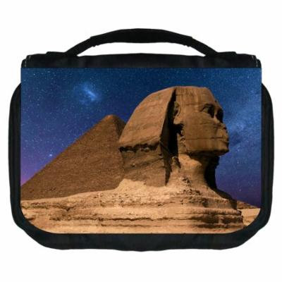 Sphinx Small Travel Toiletry / Cosmetic Case with 3 Compartments and Detachable Hanger
