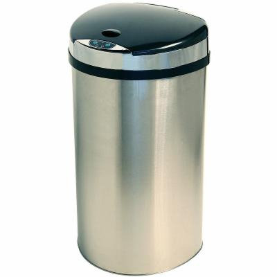 iTouchless 13-Gal. Extra Wide Touchless Trash Can