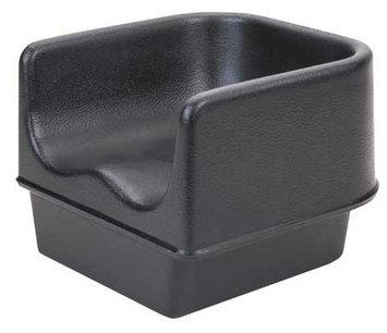 Cambro Single Booster Seat (Black). Model: EA100BC1110