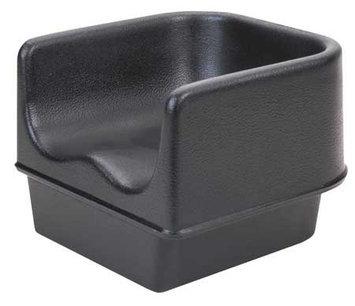 Cambro Single Booster Seat (Black). Model: EA100BC1110