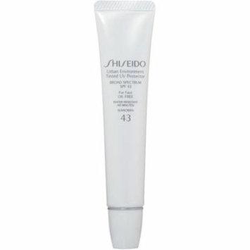 2 Pack - Shiseido Urban Environment Tinted UV SPF 43 Protector Broad Spectrum 1.1 oz