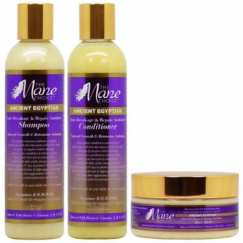 The Mane Choice Ancient Egyptian Shampoo + Conditioner + Mask