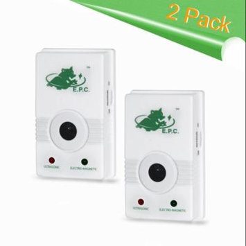 Home Sentinel 4-in-1 Indoor Pest Repeller Ultrasonic Pest Control Pest Repellent and Electromagnetic Plug In Mosquito Repellent, Flying Insects Repeller, Moths Guard - 2 Pack
