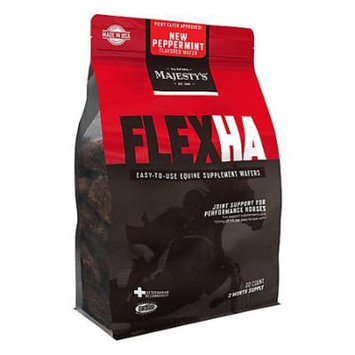 Majesty's Flex HA Peppermint Flavored Wafers
