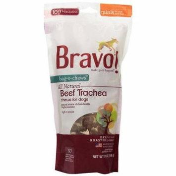 Bravo! Bag-O-Chews Grain-Free Beef Trachea Mini Chews Dog Treats, 7 Oz