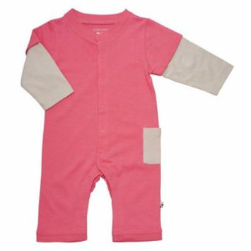 Babysoy Layered One Piece (Baby) - Pink Lemonade-18-24 Months
