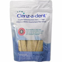 CEVA Animal Health CLE06130 Clenz-A-Dent 30 Count Rawhide Chews for Small Dogs