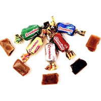 Arcor Assorted Soft Toffee Candy Vanilla, Chocolate, Mint, Coffee & Maple Wrapped 3 pounds bag