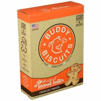 Cloud Star Grain Free Oven Baked Buddy Biscuits Dog Treats, Smooth Aged Cheddar,