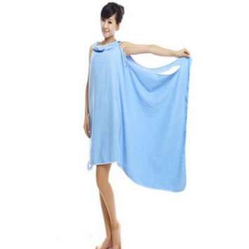 Coxeer Soft Comfortable Shower Towel Quick Absorbent Wearable Bath Wrap Towel Body Towel Wrap Bathrobe for Women Girls Home Travel Spa