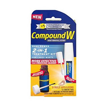 Compound W-Dual Power 2 in 1 Treatment Kit