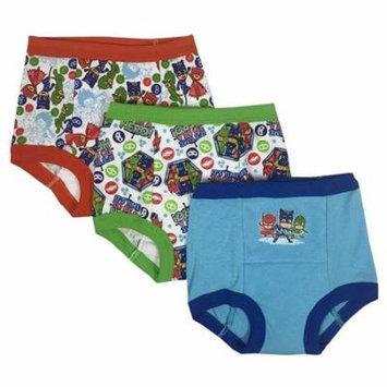 PJMASKS PJ Masks Toddler Boys' 3-Pack Training Pants, PJ Marina Sky/Multi, 4T