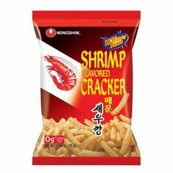 Nongshim Shrimp Cracker Spicy, 2.64 Oz, 12 Ct