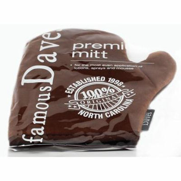 Improved Self Tanning Mitt / Sunscreen Applicator Double Sided Glove with Thumb for the Perfect self Tan - Mitts will not slip off - 100% Guaranteed By Famous Dave's!