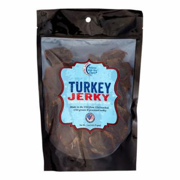 Chasing Our Tails Grain Free Turkey Jerky Dehydrated Dog Treat, 5 oz