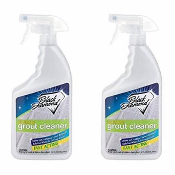 ULTIMATE GROUT CLEANER: Best Grout Cleaner For Tile & Grout Cleaning, Acid-Free Safe Deep Cleaner & Stain Remover for Even the Dirtiest Grout, Best Way to Clean Grout in Ceramic, Marble 32oz - 2 Pack