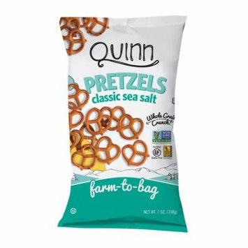 Quinn Popcorn Pretzels - Classic Sea Salt - Twst - Case Of 8 - 7 Oz