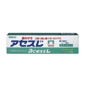 Access Herbal Extract Toothpaste, Mint, 4.2 Ounce