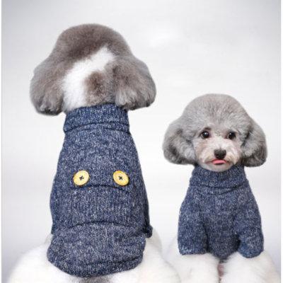 Pet Dog Warm Soft Plush Clothes Puppy Winter Sweater Apparel Jacket Coat Costume S